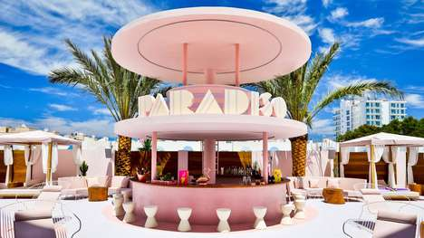 Art Deco Hotel Designs - Ilmiodesign Creates an Adorable and Colorful Aesthetic for a Hotel in Ibiza