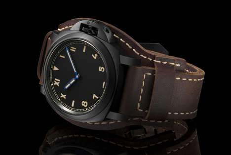 Modernized Vintage Watches - The Panerai Luminor California Has Classic Style with Modern Utilities