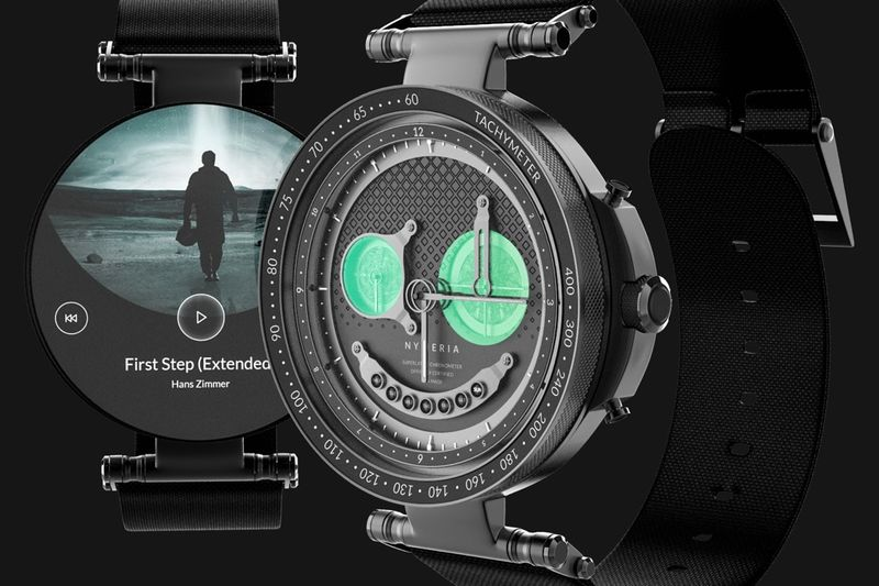 Interchangeable Mechanical Smartwatches
