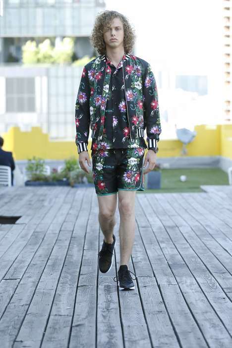 Eclectic Menswear Fashion Collections - A_I_R's Summer-Ready Capsule is Heavy on Playful Prints