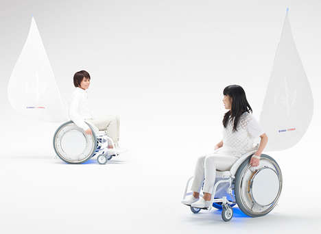Musically Inspired Wheelchair Designs