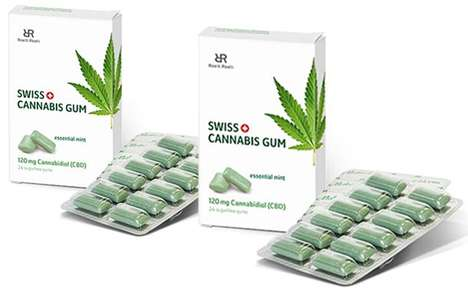 Alternative Wellness CBD Gums - The Roelli Roelli Cannabis Gum Alleviates Anxiety and More