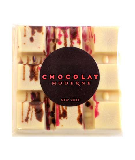 Tomato-Infused Chocolates - Chocolate Moderne Created a White Chocolate Tomato Cinnamon Bar