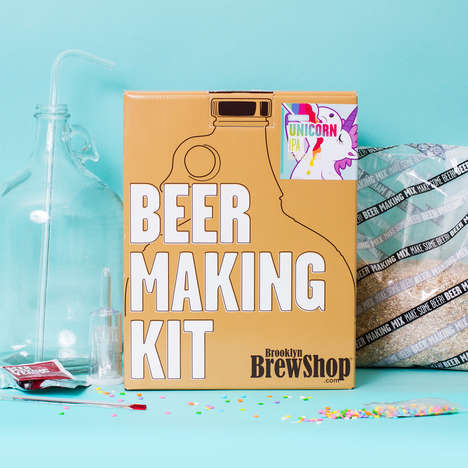 Unicorn Beer-Making Kits - Brooklyn Brewshop Unicorn IPA Beer Making Kit is a Magical Experience