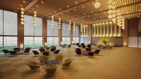 Redesigned Movie Hotels - The Hotel Okura Redesign Will Preserve Its Iconic James Bond Heritage