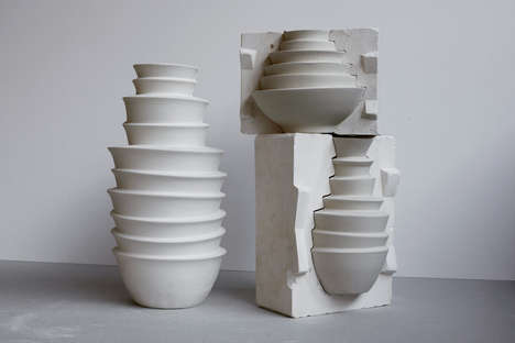 Bowl-Stacking Vases