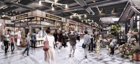 First-to-Market Food Halls