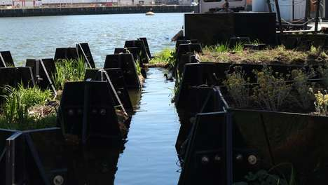Eco-Friendly Floating Parks
