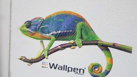 Artful Wallprinting Technology - WallPen's Wallprinting Says Goodbye to Stickers and Wallpaper