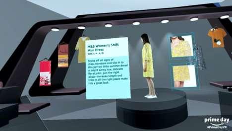 VR E-Shopping Kiosks