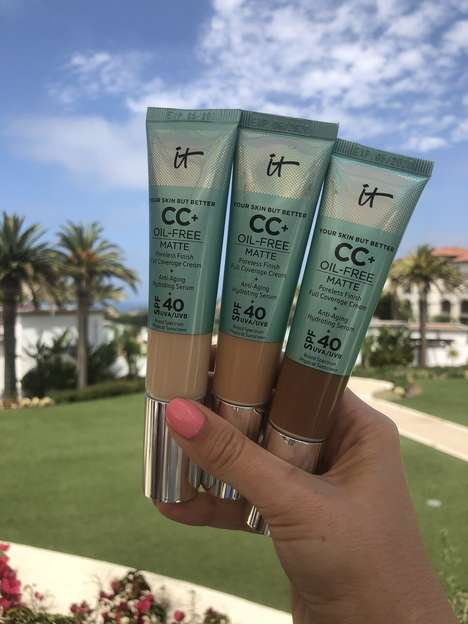SPF Matte CC Creams - IT Cosmetics' New CC+ Oil-Free Matte Cream is Ideal for Oily Skin