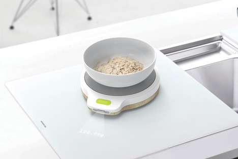 Screen-Free Kitchen Scales