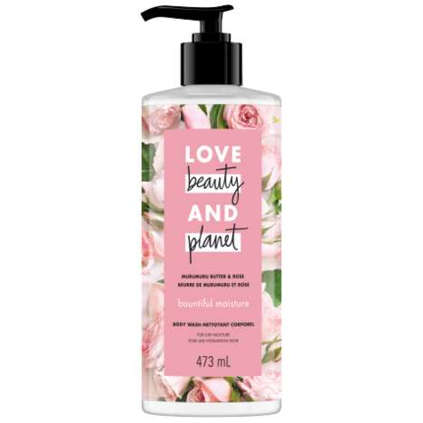 Hydrating Rose Body Washes - Love and Beauty Planet Launched Its Murumuru Butter & Rose Body Wash