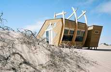 Shipwreck-Inspired Travel Lodges