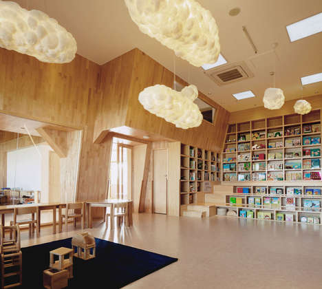Design-Driven Modern Kindergartens - VMDPE Design Creates an Interior That is Geared Toward Children