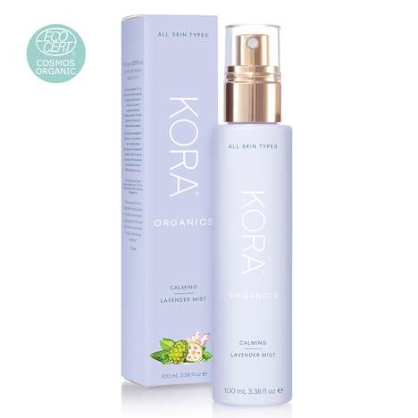 Soothing Lavender Face Mists - Kora Organics' 'Calming Lavender Mist' is Suitable for All Skin Types