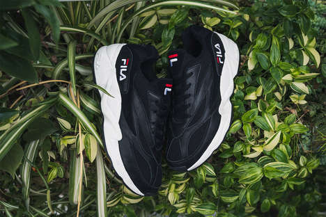 Tonal Archival Chunky Shoes - The FILA 94 Sneakers Received Two New Tonal Makeovers