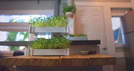 Stacking Hydroponic Gardens