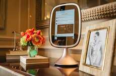 App-Connected Mirrors - The Frednology Allure Smart Makeup Mirror Offers Enhanced Clarity