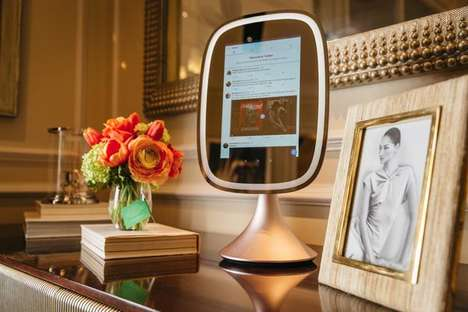 App-Connected Mirrors