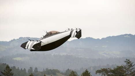 Ultralight All-Electric Flying Cars - The BlackFly by Opener is an Innovative Single-Seat Aircraft
