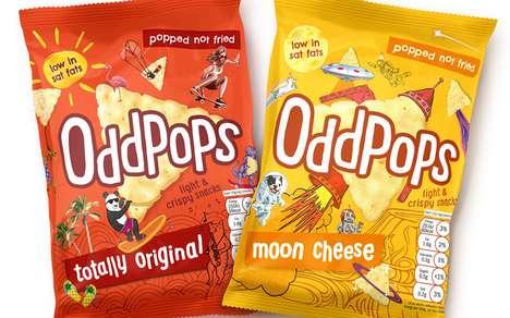 Crispy Kid-Targeted Snacks