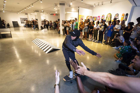Celebratory Street Culture Exhibitions - Das Days Offers an Open Platform for Creatives & Skaters