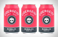 Rose Cider Creations - The New Cidergeist Bubbles Rose Ale Mixes the Most Popular Drinks into One