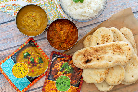 Microwavable Indian Meal Pouches - The Trader Joe's Indian Fare Lineup is Quick to Prepare