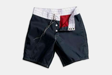 Country-Celebrating Surf Shorts - Birdwell's 311 Patriotic Board Shorts are Fun and Exclusively Sold