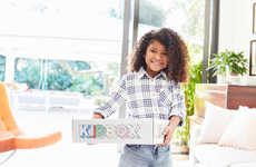 Kid-Targeted Personalized Clothing Boxes - KidBox Boasts Stylish and Affordable Back-to-School Kits