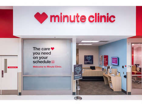 Streamlined AI Healthcare Bots - CVS Health's MinuteClinic Integrates Efficiency and Technology