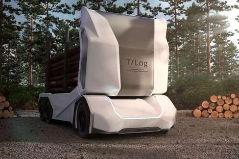 Autonomous Logging Vehicles