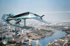Luxurious Flying Car Concepts - Aston Martin's Volante Vision Features a VTOL Design
