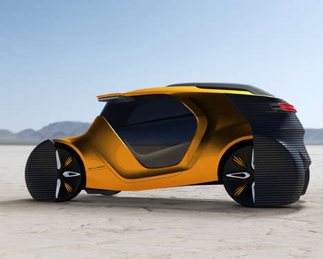 Futuristically Advanced Cars