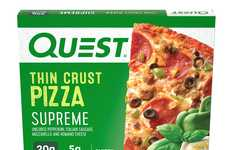 High-Protein Frozen Pizzas