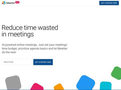 Time-Reducing Meeting Platforms - 'Meetter' Enables Faster, More Focused Meetings for Teams