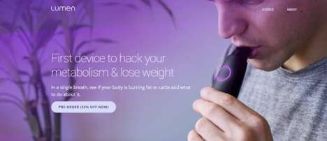 Weight Management Breath Devices - Lumen Has Crafted a Breath Analyzing Device to Ensure Health