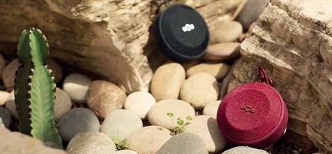 Buoyant Wireless Cork Speakers