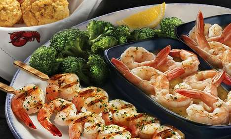Early Dining Promotions - Red Lobster is Offering 'Early-Dining Specials' from 11AM to 6PM