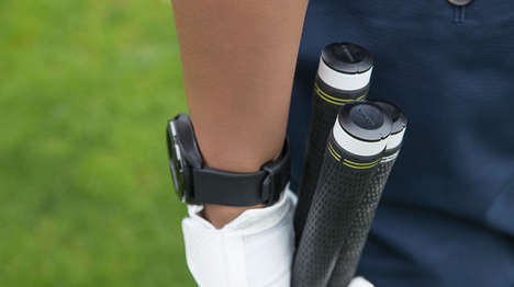 Golf Club-Tracking Gadgets - Garmin's Approach CT10 Offers Insights to Specific Club Use