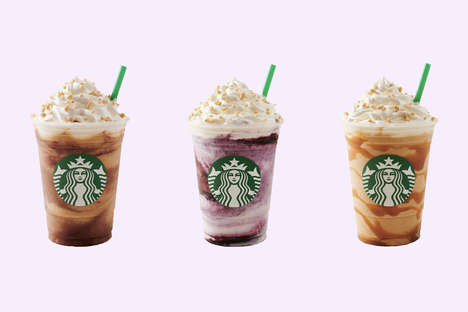 Blended Dessert-Themed Beverages - Starbucks' Cheesecake Frappuccino is Available in the U.K