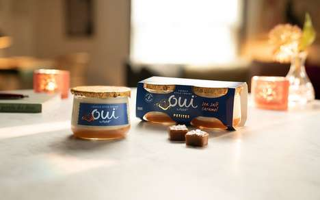 Portioned Indulgence Dessert Yogurts - The New Yopliat Oui Petite Yogurts are Perfect as a Treat