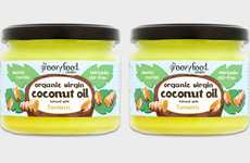Spiced Coconut Cooking Oils - The Organic Virgin Coconut Oil infused with Turmeric is Flavorful