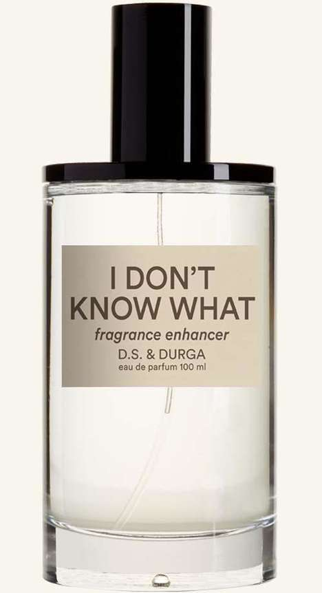 Aromatic Fragrance Enhancers - D.S. & Durga's 'I Don't Know What' Adds Complexity to Other Scents