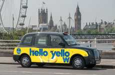 Banana-Themed Taxi Campaigns