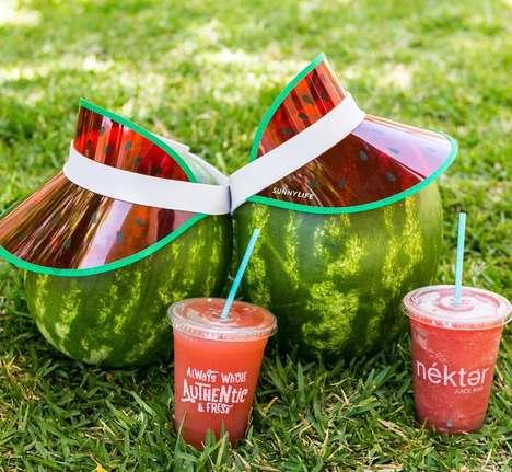 Locally Sourced Watermelon Drinks