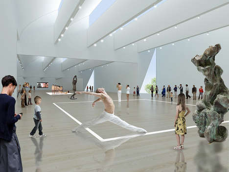 Contemporary Art Gallery Architecture