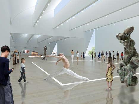 Contemporary Art Gallery Architecture