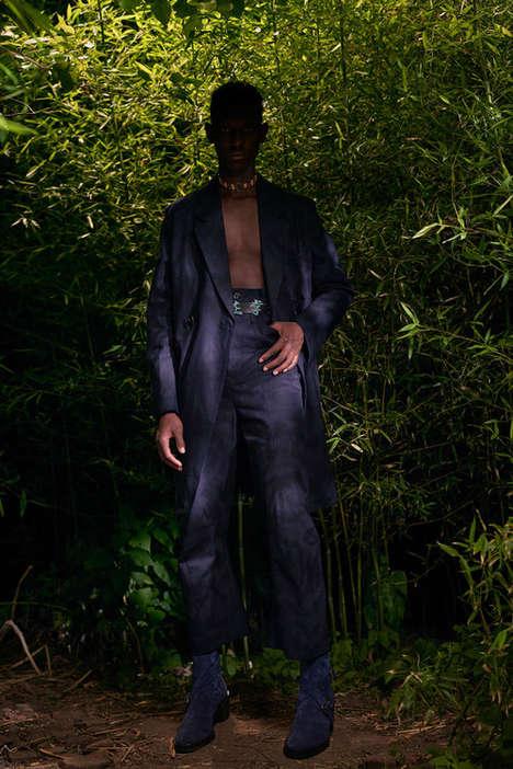Garden-Shot Fashion Lookbooks